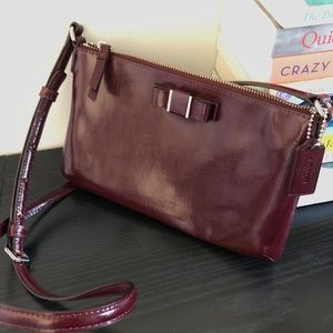 COACH - Maroon Crossbody Bag